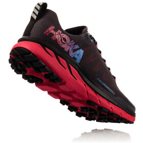 Hoka One One Challenger ATR 4 Running Shoes Women black/azalea